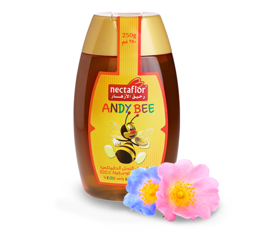 عسل أزهار نحل طبيعي بالكامل 100%